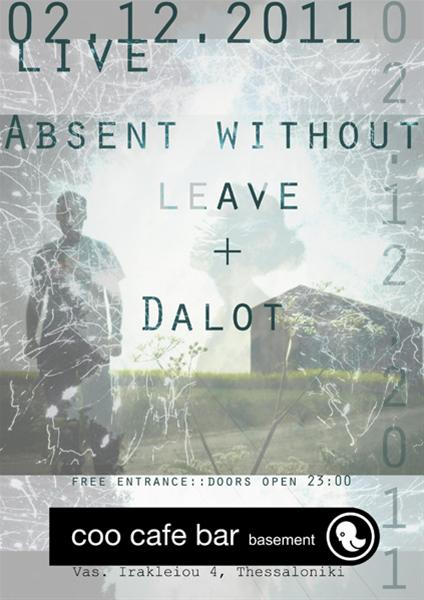 Absent Without Leave στο Coo Cafe Bar