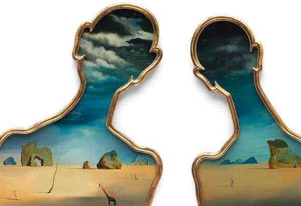 Το «Ζευγάρι με Κεφάλια Γεμάτα Σύννεφα» του Νταλί  βγαίνει στο σφυρί