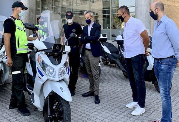 Θεσσαλονίκη: Νέες μηχανές απέκτησε η Δημοτική Αστυνομία και η Πολιτική Προστασία