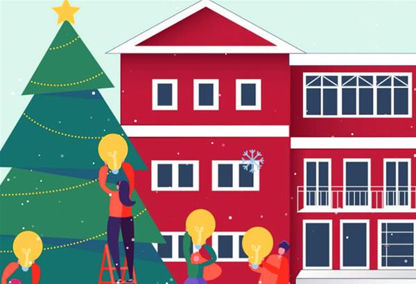 Δ. Παύλου Μελά: Περιηγηθείτε στη «Μαγεμένη Πύλη», το ψηφιακό χριστουγεννιάτικο χωριό της Θεσσαλονίκης