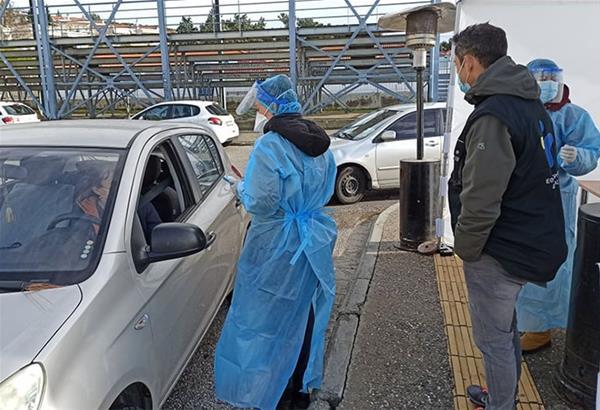 Δήμος Ωραιοκάστρου: Δωρεάν rapid test μέσα από αυτοκίνητο στη Λητή
