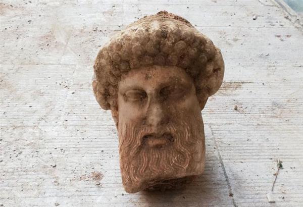 Αθήνα: Η αρχαία κεφαλή απεικονίζει το θεό Ερμή σε ώριμη ηλικία