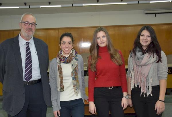 Θεσσαλονίκη: Υποτροφίες σε 3 φοιτήτριες στο πλαίσιο συνεργασίας του ΑΠΘ με την ΕΥΑΘ