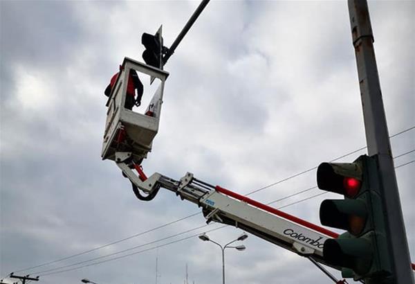 Δ. Κορδελιού - Ευόσμου: Αντικατάσταση φωτεινών σηματοδοτών σε κομβικά σημεία