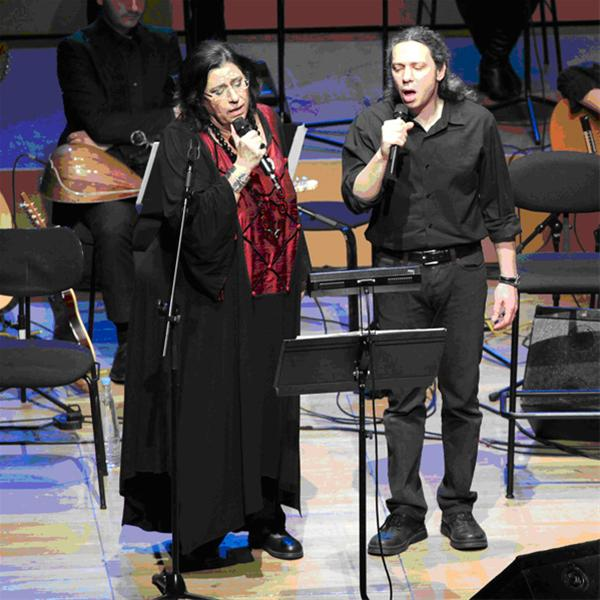 Μ. Φαραντούρη-Αλκ.Ιωαννίδης τραγουδούν Ν. Γκάτσο στο Μέγαρο Μουσικής