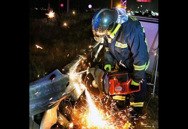 Θεσσαλονίκη: Σοβαρό τροχαίο στη Γέφυρα του Γαλλικού ποταμού