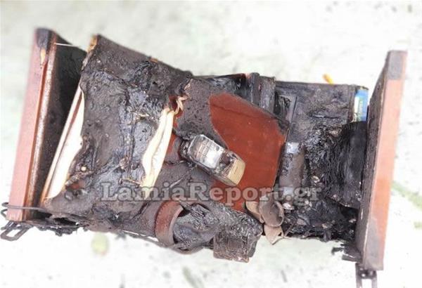 Λαμία: Πήρε φωτιά το σπίτι από κινητό τηλέφωνο