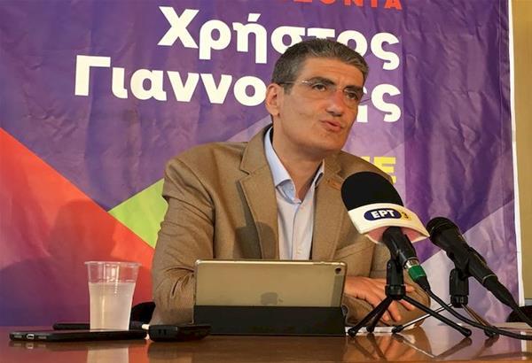 Το πρόγραμμα του για μία ''Περιφέρεια με ανθρώπινο πρόσωπο'' παρουσίασε ο Χρήστος Γιαννούλης