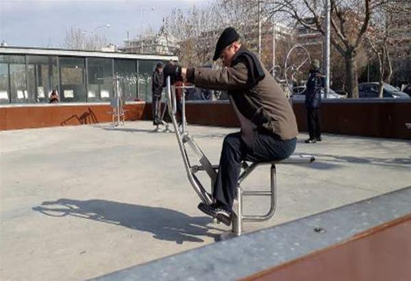 Δύο νέα υπαίθρια γυμναστήρια ετοιμάζονται σε περιοχές της Θεσσαλονίκης