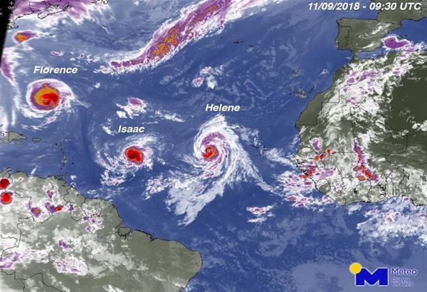 Παρέλαση τυφώνων στον Ατλαντικό. Σε επιφυλακή η Ουάσινγκτον