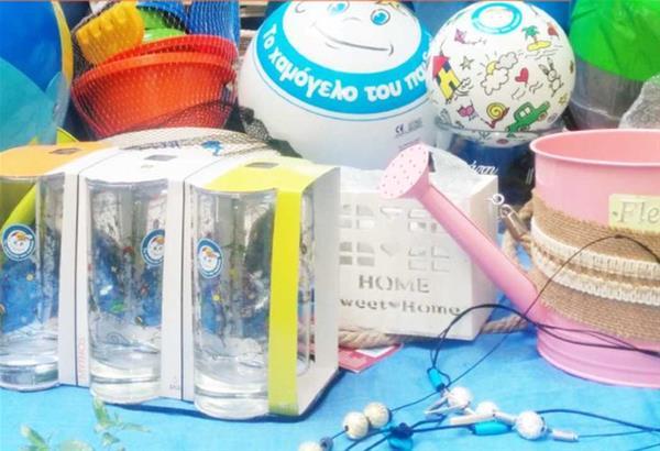 Καλοκαιρινό bazaar από «Το Χαμόγελο του Παιδιού» στην Πλαζ Αρετσού - Καλαμαριά