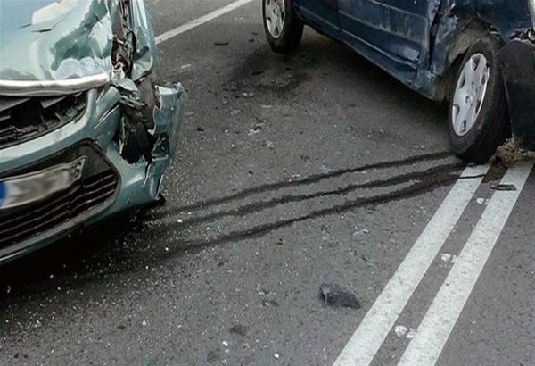Περιφερειακός Θεσσαλονίκης: Καραμπόλα με πέντε ΙΧ οχήματα και μποτιλιάρισμα στο σημείο