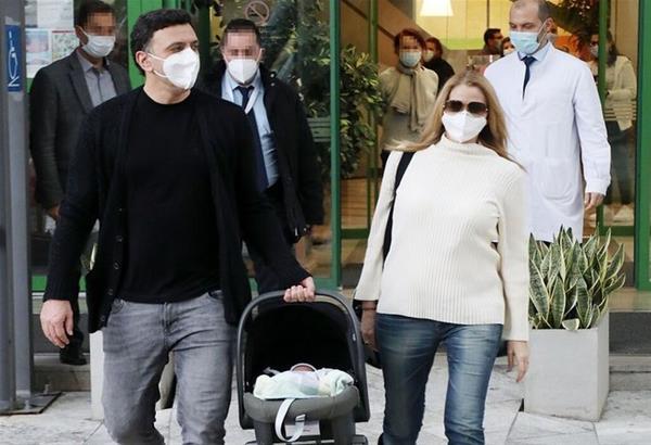 Κικίλιας-Μπαλατσινού: Ανακοίνωσαν το όνομα που θα δώσουν στον γιο τους