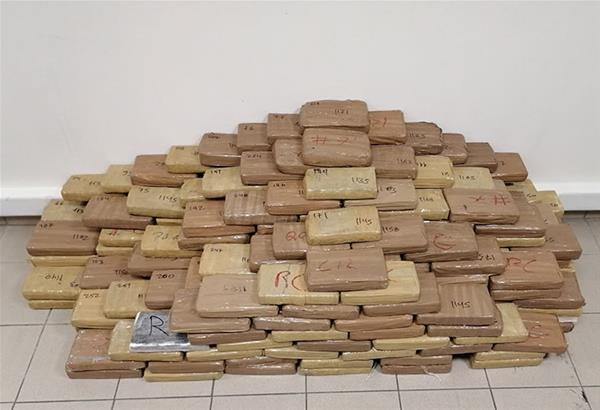 Θεσσαλονίκη: Προφυλακίστηκαν οι 3 συλληφθέντες για τα 324 κιλά καθαρής κοκαΐνης
