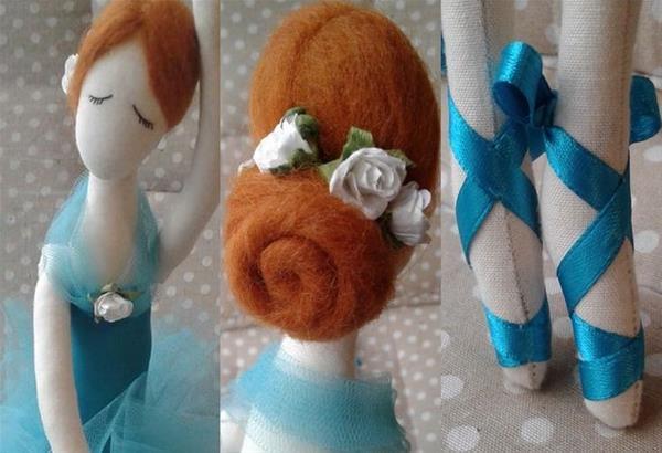 Εργαστήριο χειροποίητης κούκλας: Κατασκευάστε μια ονειρική χορεύτρια, ντυμένη για παράσταση με μετάξια και τούλια, όμορφη κόμμωση και πουέντ!