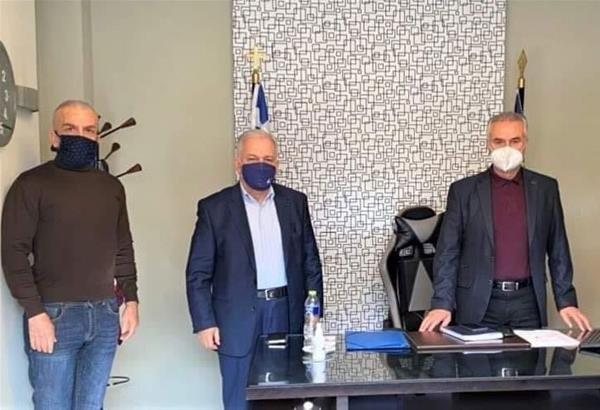 Κυρίζογλου, Ιωαννίδης, Αναγνωστόπουλος συναντήθηκαν με τον Σ. Αναστασιάδη