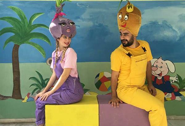 Επιστρέφουν Ο Πρίγκιπας Λεμόνης και η όμορφη Κρεμμύδω στο Φαργκάνη Art