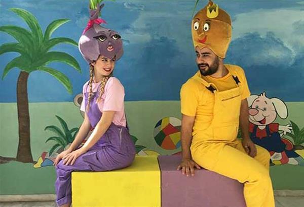 Ο Πρίγκιπας Λεμόνης και η όμορφη Κρεμμύδω στο Φαργκάνη Art