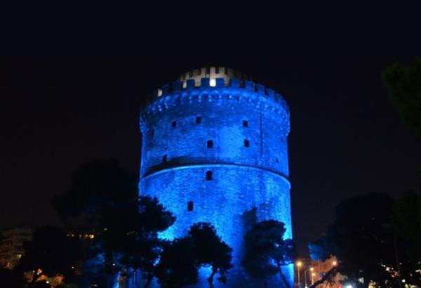 Στα μπλε σήμερα ο Λευκός Πύργος - Παγκόσμια Ημέρα Διαβήτη