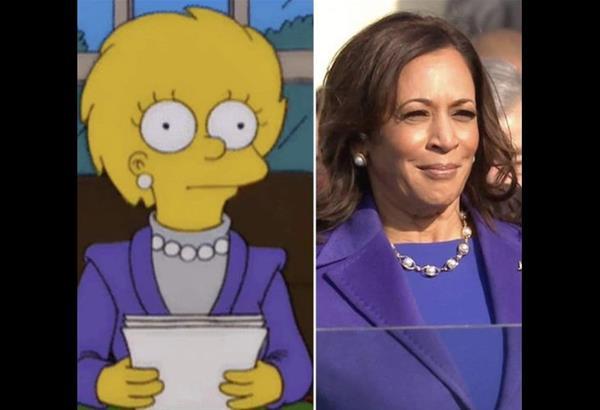 The Simpsons: Η Λίσα Σιμπσον «προφήτευσε» τις ενδυματολογικές επιλογές της Καμάλα Χάρις  (βίντεο)