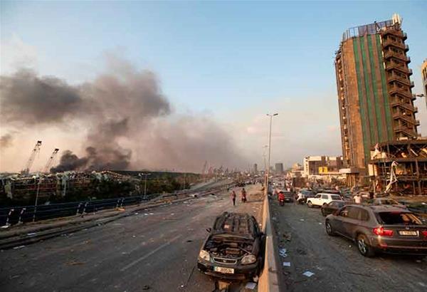 Έκρηξη στη Βηρυτό: «εθνική καταστροφή» με  τουλάχιστον 73 νεκρούς και 4.000 τραυματίες