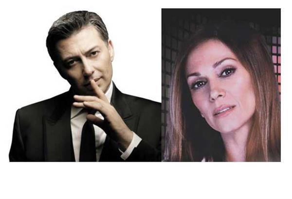 Νίκος Μακρόπουλος, Έλλη Κοκκίνου και Βασίλης Δήμας στο Stage Live