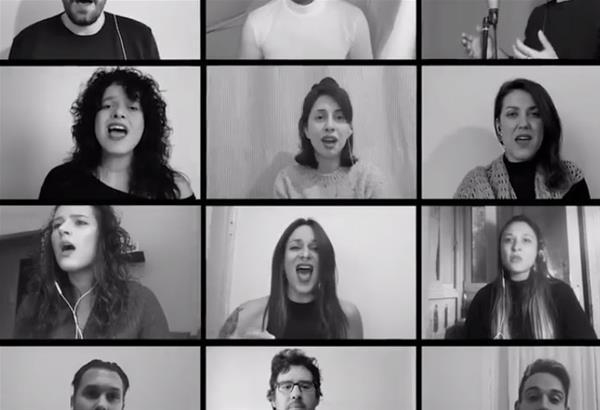 26 καλλιτέχνες από τη Θεσσαλονίκη τραγούδησαν «Κάλαντα για το Μέλλον»
