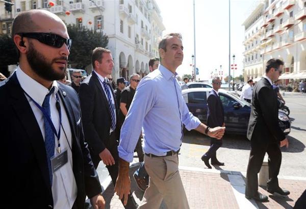 Στη Θεσσαλονίκη ο Κυριάκος Μητσοτάκης σήμερα Παρασκευή 5 Ιουλίου