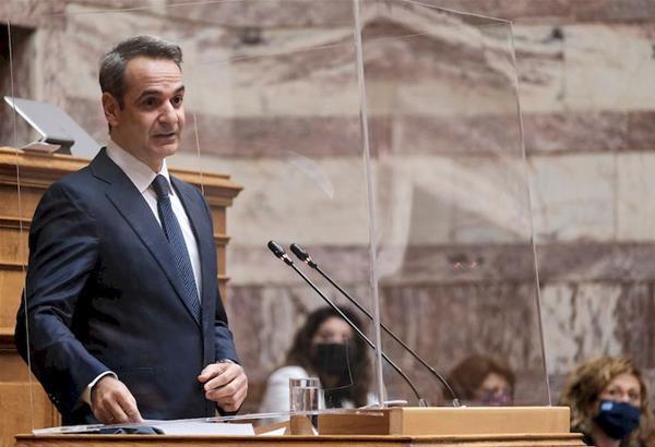 Μητσοτάκης- Βουλή: Η Ελλάδα μεγαλώνει- Επέκταση χωρικών υδάτων όπου κρίνουμε