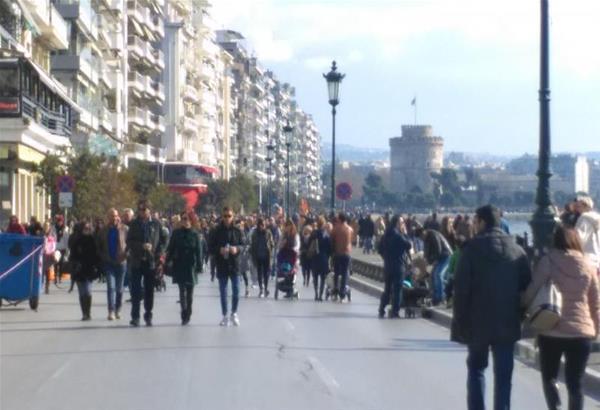 Η πρόταση Βούγια για το κυκλοφοριακό πρόβλημα της Θεσσαλονίκης. Πεζοδρόμηση της Λεωφόρου Νίκης - Μεταφορά λεωφορειακών γραμμών