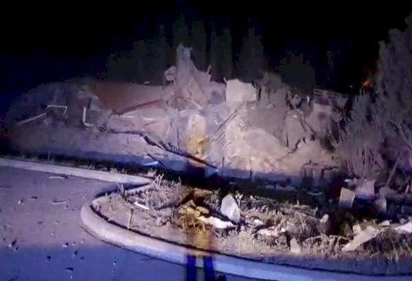 Καστοριά: Ισχυρή έκρηξη ισοπέδωσε το ξενοδοχείο «Τσάμης»