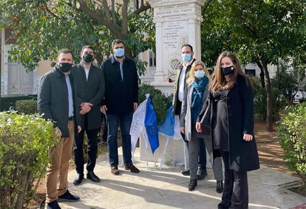 Στεφάνι στο Μνημείο Πεσόντων Ιμίων κατέθεσε αντιπροσωπεία της ΟΝΝΕΔ