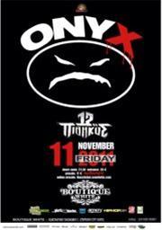 Αλλαγή χώρου για τη συναυλία των Onyx στη Θεσσαλονίκη