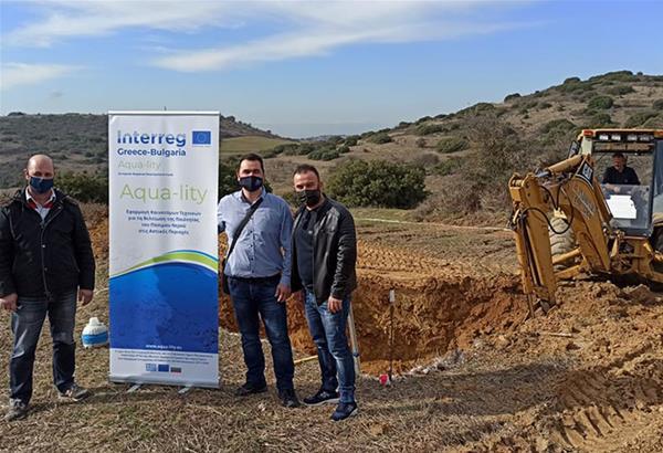 Δ. Ωραιοκάστρου: Εργασίες βελτίωσης της ποιότητας του νερού στον οικισμό Ανθούπολης