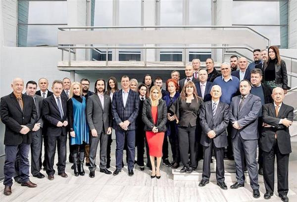 """Ο Γιώργος Ορφανός, υποψήφιος δήμαρχος της πόλης με το συνδυασμό """"Η Θεσσαλονίκη Είναι το Μέλλον"""", ανακοίνωσε τους πρώτους 37 υποψήφιους"""