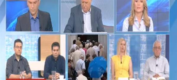 Ακόμη ένας τηλεοπτικός καυγάς... Παπαδόπουλος - Ραχήλ Μακρή: Σούργελο, νούμερο, ξεφτιλισμένη και φασίστρια [video]