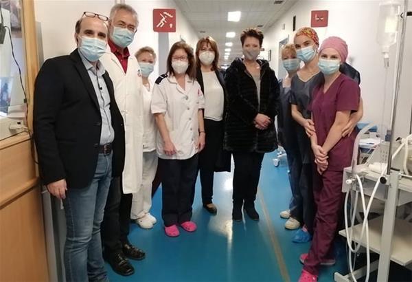Ευχές από το Γενικό Νοσοκομείο «Γεώργιος Παπανικολάου»