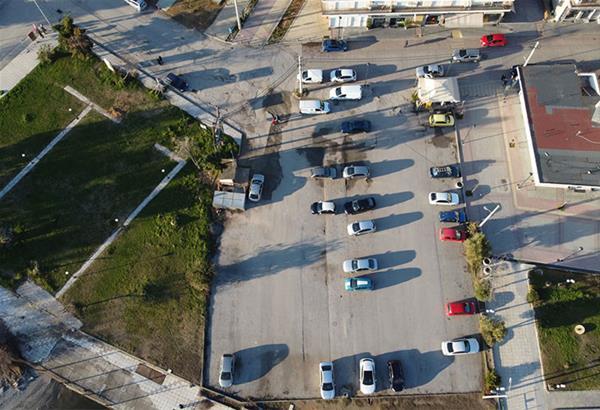 Ν. Μουδανιά:  Έναρξη εργασιών κατασκευής χώρου στάθμευσης