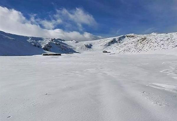 Ο Παρνασσός έγινε… Ανταρκτική – Έφτασε στο -27,8 η θερμοκρασία!