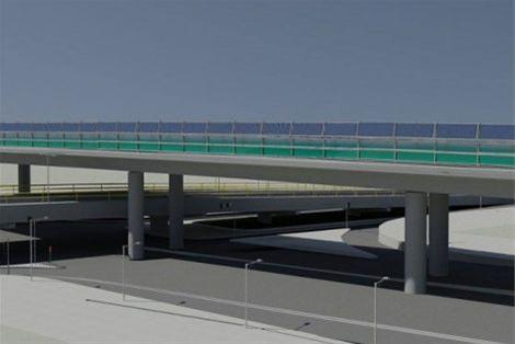 Εντυπωσιακή η γέφυρα πάνω από τη γέφυρα στη Λαγκαδά (φωτο)