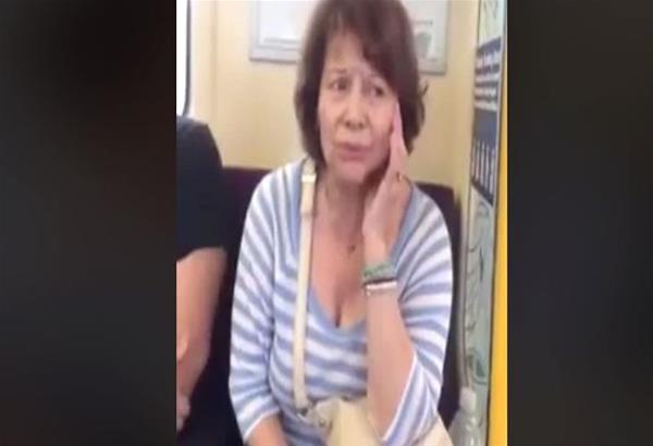 H ''Τεράστια'' Πίτσα Παπαδοπούλου τραγουδά εκπληκτικά μέσα στο μετρό παραγγελιά επιβάτη. Βίντεο