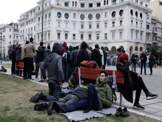 Έκθεση ''Χαστούκι'' της Ευρώπης:  Η Ελλάδα κακομεταχειρίζεται τους μετανάστες.