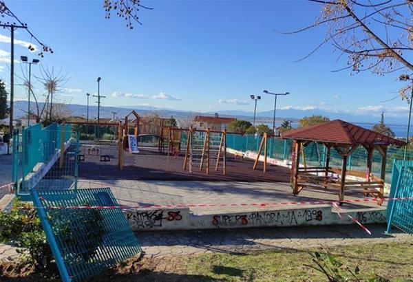 Ιγν. Καϊτεζίδης για βανδαλισμούς σε παιδικές χαρές και πάρκα: Να φτιάχνουμε και όχι να καταστρέφουμε