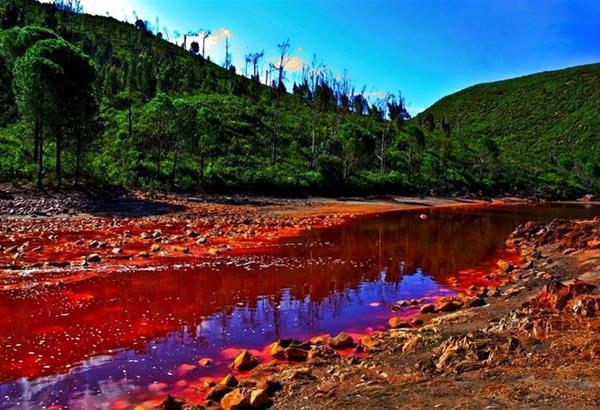 Rio Tinto: Ο γήινος ποταμός με τα χαρακτηριστικά από τον πλανήτη Άρη (βίντεο)
