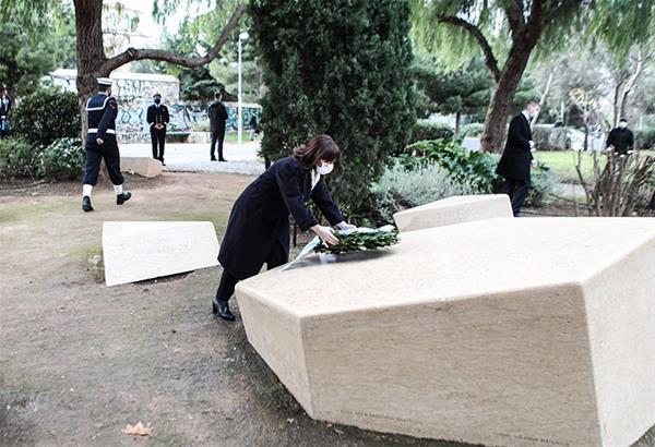 Σακελλαροπούλου: Το Ολοκαύτωμα μας αφορά όλους. Χρέος μας η διαφύλαξη της ιστορικής μνήμης