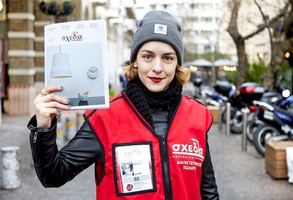 «Σχεδία»: Πωλητές για μία ώρα γνωστοί Έλληνες για καλό σκοπό.