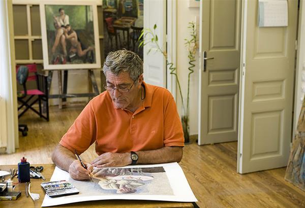 Έφυγε από τη ζωή ο ζωγράφος Παύλος Σάμιος