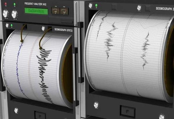 Σεισμική δόνηση  4 Ρίχτερ 22 χιλιόμετρα νοτιοδυτικά της Πάτρας τα ξημερώματα
