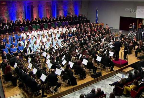 Προβολή της συναυλίας της ΣΟΝΕ για το Ελληνικό Παιδικό Χωριό Φιλύρου