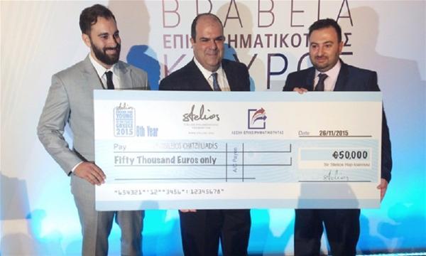 Σε δύο αδέλφια Θεσσαλονικιούς το φετινό βραβείο 50.000 ευρώ της Λέσχης Επιχειρηματικότητας